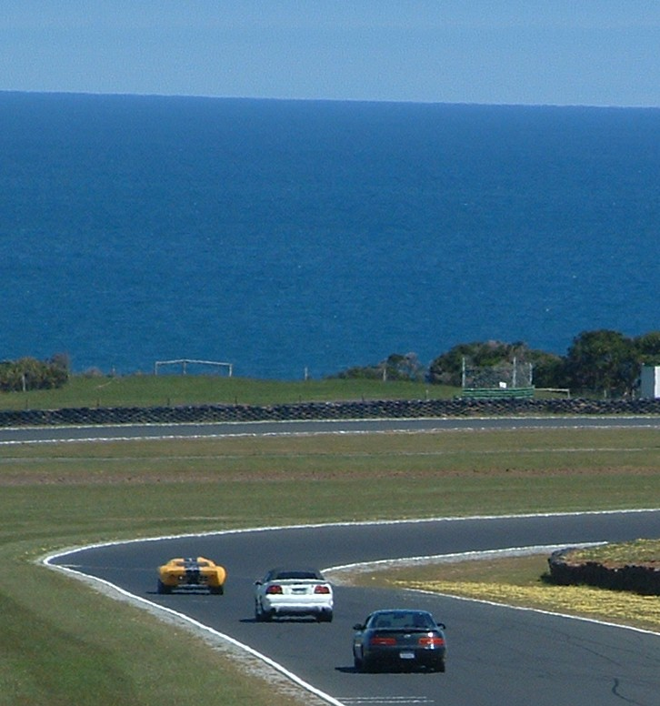 Supercharged Mustang Yellow: Planet Soarer: Phillip Island Sprints Nov 2003